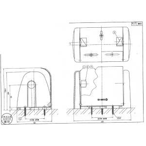 即納 三栄水栓製作所 [SANEI] トイレペーパーホルダー ワンタッチホルダー W372-I アイボリー 新品|up-b|03
