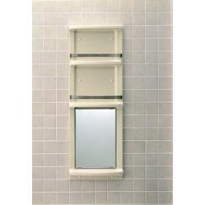 【直送商品】INAX LIXIL・リクシル 浴室収納棚 YR-412G[新品]〈メーカー直送のみ・代引き不可・NP後払い不可〉|up-b