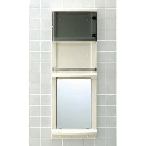 【直送商品】INAX LIXIL・リクシル 浴室収納棚 YR-412GT[新品]〈メーカー直送のみ・代引き不可・NP後払い不可〉|up-b