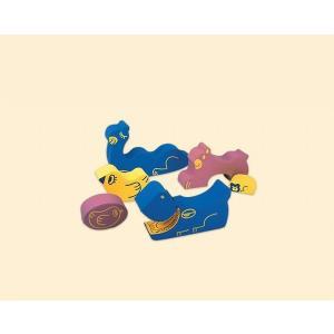 【YSA-01】 ソフトアニマルセット 幼児用遊び場 室内遊具 動物 コンビウィズ株式会社【YSA01】[新品]|up-b