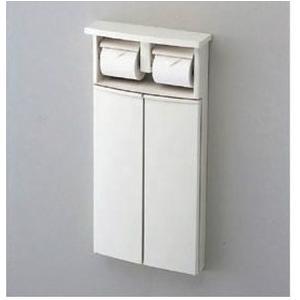 TOTO YSC25N#NW1 二連紙巻器一体形収納キャビネット(埋込タイプ) トイレ周辺収納 [新品]|up-b