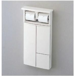 TOTO YSC26N 二連紙巻器一体形収納キャビネット(埋込タイプ) トイレ周辺収納 [新品]|up-b