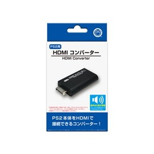 コロンバスサークル【PS2用】 HDMIコンバーター CC-P2HDC-BK