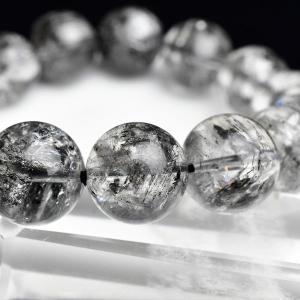 エレスチャル 最高級 AAAAA 骸骨水晶 ブレスレット ■約14.5mm×15珠■ エレスチャル ...