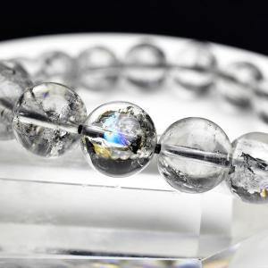 エレスチャル 最高級 AAAAA 骸骨水晶 ブレスレット ■約11mm×18珠■ エレスチャル エレ...