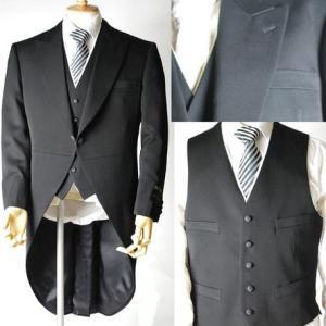 モーニングコート フォーマル ジャケット ベスト メンズ かっこいい 礼服 ジャケット パンツ 喪服...