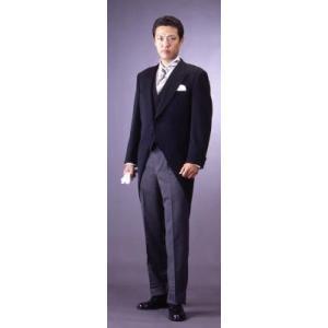 フォーマル 礼服 モーニングコート メンズ かっこいい ジャケット ベスト パンツ 3点セット * ...