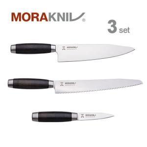 Morakniv Kitchen Knife 3set Classic 1891, black モーラナイフ キッチンナイフ3本セット クラシック 1891 ブラック|upi-outdoorproducts