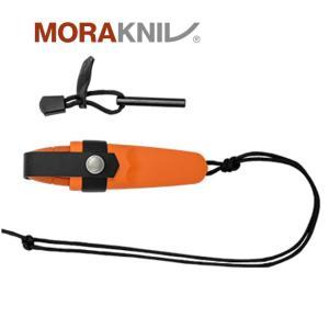 Morakniv Eldris Neck Knife Kit Burnt Orange モーラナイフ エルドリス ネックナイフキット バーントオレンジ|upi-outdoorproducts