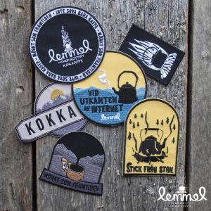 Lemmel Kaffe レンメルコーヒー ワッペン6枚セット|upi-outdoorproducts