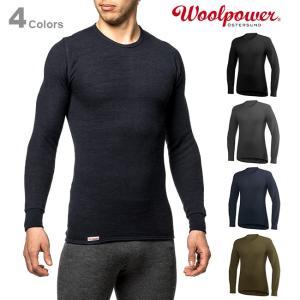 Woolpower ウールパワー クルーネック 200 正規品|upi-outdoorproducts