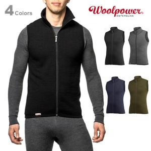 Woolpower ウールパワー ベスト 400 正規品|upi-outdoorproducts