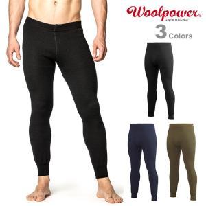 Woolpower ウールパワー ロングジョン 400|upi-outdoorproducts