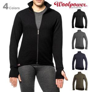 Woolpower ウールパワー フルジップジャケット 600|upi-outdoorproducts