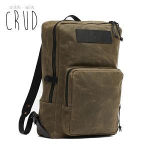 CRUD Nova Backpack Black クルード ノヴァ バックパック ブラック|upi-outdoorproducts