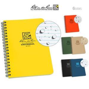 Rite in the Rain 4.6×7 Side Spiral Notebook ライト イン ザ レイン 4.6×7 サイドスパイラル ノート|upi-outdoorproducts