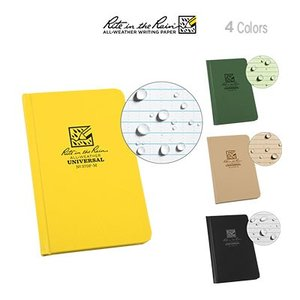 Rite in the Rain Small Hard Cover Book ライト イン ザ レイン スモール ハードカバーブック|upi-outdoorproducts