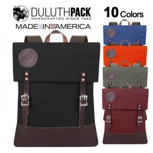 【旧タイプ】Duluth Pack Deluxe Scout Pack ダルースパック デラックス スカウトパック|upi-outdoorproducts