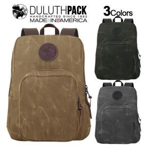 Duluth Pack Large Standard Daypack WAX ダルースパック ラージ スタンダード デイパック ワックス|upi-outdoorproducts