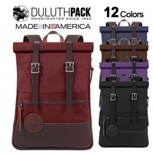 Duluth Pack Deluxe Roll-Top Scout Pack ダルースパック デラックス ロールトップ スカウトパック|upi-outdoorproducts