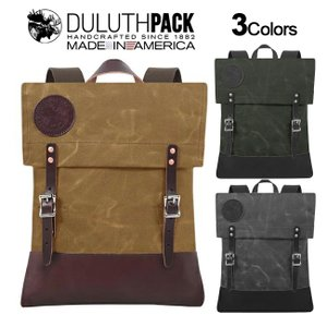 【NEW】Duluth Pack Deluxe Scout Pack WAX ダルースパック デラックス スカウトパック ワックス(Wing)|upi-outdoorproducts