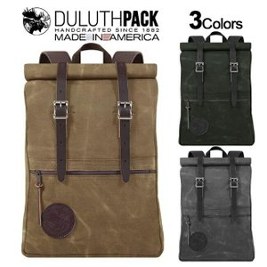 Duluth Pack Roll-Top Scout Pack WAX ダルースパック ロールトップ スカウトパック ワックス|upi-outdoorproducts