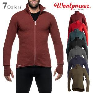 Woolpower ウールパワー フルジップジャケット 400 正規品|upi-outdoorproducts