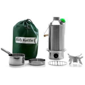 Kelly Kettle ケリーケトル ベースキャンプ1.6L ステンレス フルセット|upi-outdoorproducts
