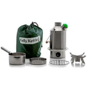 Kelly Kettle ケリーケトル スカウト1.2L ステンレス フルセット|upi-outdoorproducts