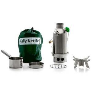 Kelly Kettle ケリーケトル トレッカー0.6L ステンレス フルセット|upi-outdoorproducts
