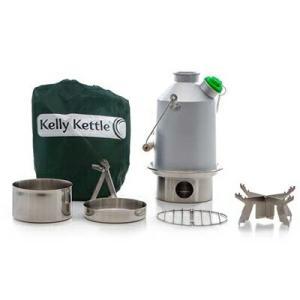 Kelly Kettle ケリーケトル スカウト1.2L アルミ フルセット|upi-outdoorproducts