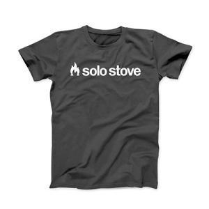 Solo Stove Original Black T-shirt ソロストーブ オリジナルブラック Tシャツ|upi-outdoorproducts