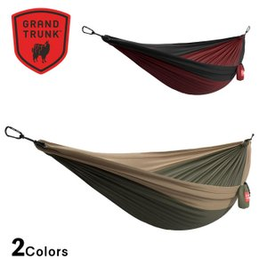 GRAND TRUNK DOUBLE DELUXE PARACHUTE NYLON HAMMOCK グランドトランク ダブル デラックス パラシュートナイロン ハンモック|upi-outdoorproducts