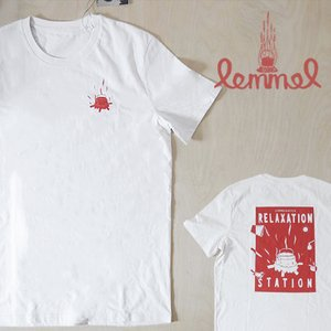 Lemmel Kaffe レンメルコーヒー リラクゼーション Tシャツ ホワイト upi-outdoorproducts