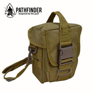 PATHFINDER パスファインダー モール バッグ カーキー|upi-outdoorproducts