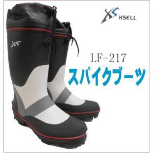 (スパイクブーツ217)フィッシングブーツ/安定の30本ピンスパイク/長靴/磯ブーツ/水産長靴|upis777