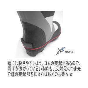 (スパイクブーツ217)フィッシングブーツ/安定の30本ピンスパイク/長靴/磯ブーツ/水産長靴 upis777 03