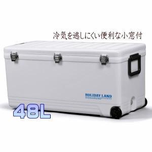 500mlペットボトル最大40本2Lペットボトルも12本収納可能 48L 大容量 大型ホリデーランドクーラー|upis777
