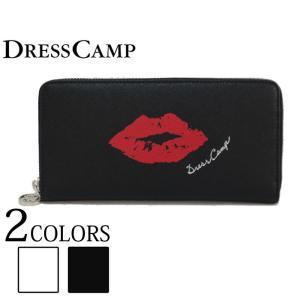 DRESS CAMP ドレスキャンプ 長財布 フロントリップジップ ラウンドジップ ウォレット 財布 サイフ ユニセックス|upper-gate