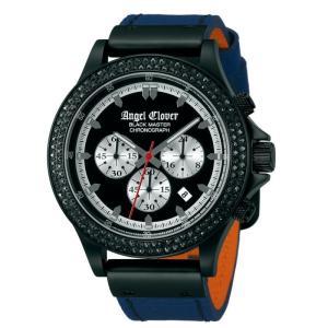 AngelClover 国内正規品 black master エンジェルクローバー ブラックマスター 腕時計 メンズ ウォッチ 革ベルト 10気圧防水 プレゼント 父の日 BM46BNB-LMT|upper-gate