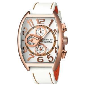 1年保証 正規品 Angel Clover エンジェルクローバー ダブルプレイ 腕時計 メンズ 日常生活防水 ホワイト おしゃれ アクセサリー ウォッチ 就職祝い|upper-gate