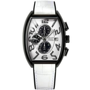 1年保証 正規品 Angel Clover エンジェルクローバー ダブルプレイソーラー 腕時計 メンズ ウォッチ アナログ 革ベルト ホワイト|upper-gate