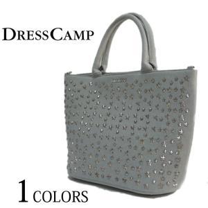 6e6bce59880e4 DRESSCAMP ドレスキャンプ TRIANGULAR スター スタッズ 2WAY デニム トートバッグ BAG ユニセックス