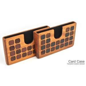 for card case 08 木製カードケース 木製品 革製品 日本製 ハンドメイド 手作業 磨き上げ 無塗装 名刺入れ ビジネス 父の日 誕生日 進学祝 就職祝 新築祝 upper-gate
