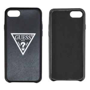 iPhoneケース(6・7・8対応)  GUESSのトライアングルロゴが目を引くシンプルiPhone...