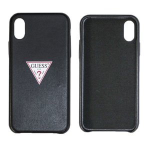 cd28e7f1f2 ※iphone X対応 GUESSのトライアングルロゴが目を引くシンプルiPhoneケース。