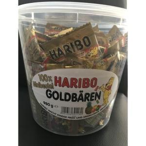コストコ COSTCO ハリボー グミ バケツ ミニ ゴールド ベア グミ お菓子 1箱 980g お菓子 個別包装