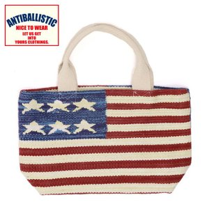 1bed8b12c7b8 アンティバルリスティック トートバック 星条旗柄 ミニトート 星柄 スター 通販 販売 人気 即納 トートバッグ 買い物バック かばん TOTEBAG  手提げ バッグ
