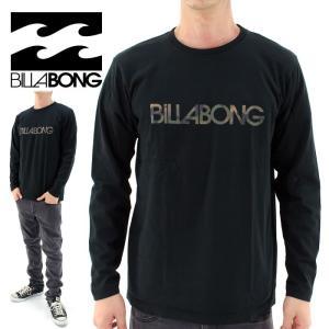 Billabong ロンT メンズ長袖Tシャツ ビラボン ロングスリーブTシャツ 丸首Tシャツ AG012050