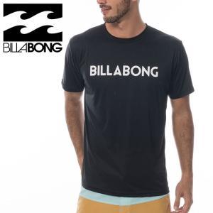 メール便対応 即納 BILLABONG メンズ 水陸両用 ラッシュガードTシャツ 半袖 ゆったり U...